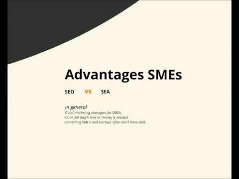 Search Engine Marketing explained - SMEs - Steps SEO