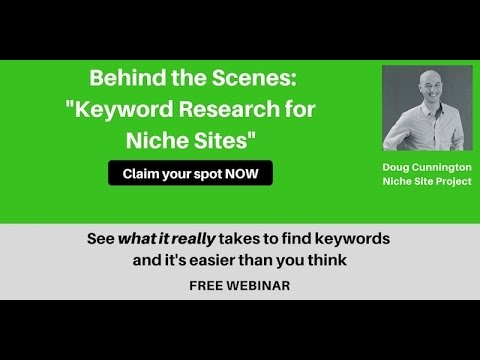 Keyword Research for Amazon Affiliate Niche Sites - Steps SEO