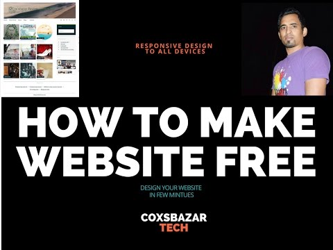 How to create your free responsive website with SEO friendly theme | Wordpress Theme Customization - Steps SEO