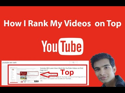 Youtube SEO Learn How I Rank My YouTube Videos on First Page 2017 - Steps SEO