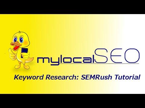 Semrush Keyword Reseach Tutorial For Niche SItes - Steps SEO